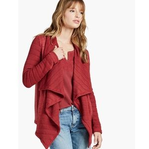 NWT Lucky Brand Drape Front Cardigan